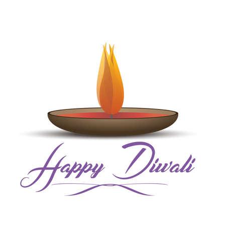 Deepavali light and festival fire