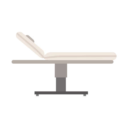 Massage table spa  icon illustration therapy flat, Care treatment health relax relaxation salon.