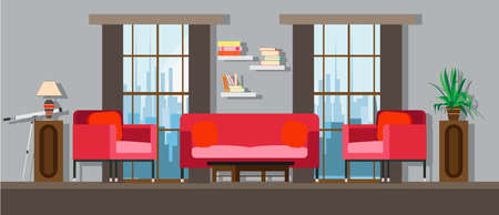 Interior Living Room Home Furniture Design. Modern House Apartment ...