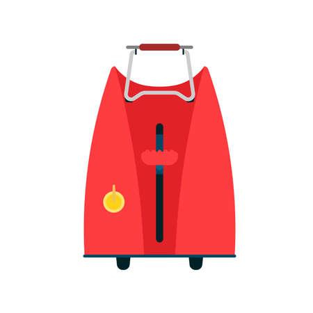 Bread toaster vector illustration food kitchen. Breakfast cartoon appliance isolated equipment. Oven crust sandwich