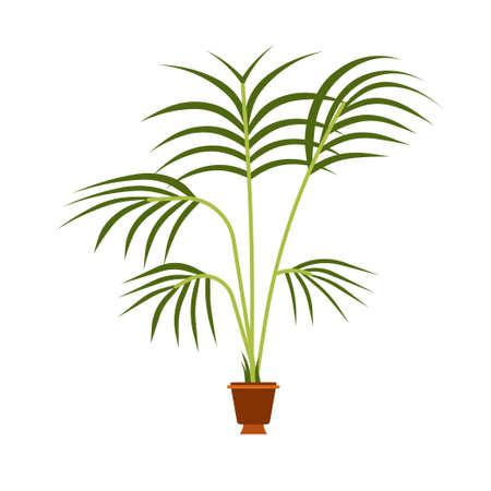 Leaf plant vector green nature tree illustration vector design. Garden icon flower natural symbol growth element. Spring decoration pot seedling sprout summer. Concept life logo flat Illusztráció