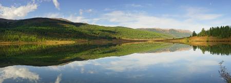 ulagan: Mountain lake Ulagan plateau Altai