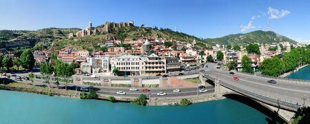 tbilisi: View on old Tbilisi Georgia