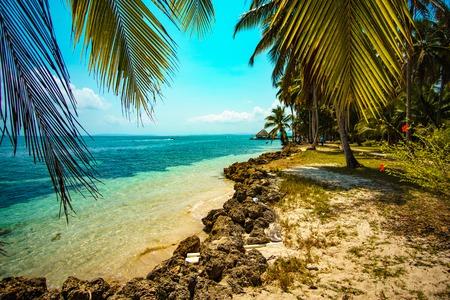 Bocas del Toro Strand Panama Beach Stock Photo