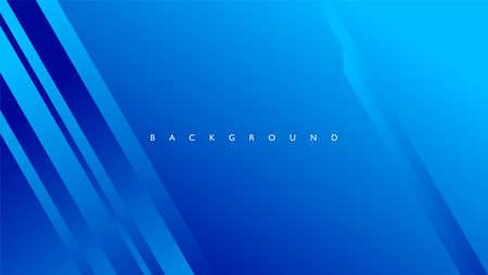 Fondo abstracto con líneas rectangulares en color azul