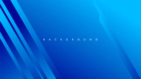 Abstract background with rectangle lines in blue color