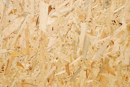 pressed plywood panel Stock Photo