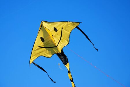 flying kite photo