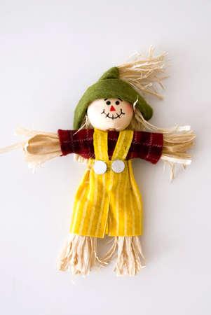 cute scarecrow Stock Photo