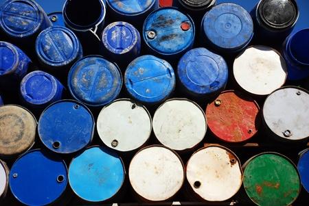 Barrels background