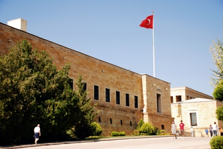 Mausoleum of Ataturk ,Ankara - Turkey