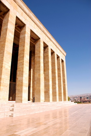 mausoleum: Mausoleum of Ataturk  Editorial