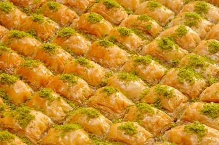 traditional dessert baklava photo