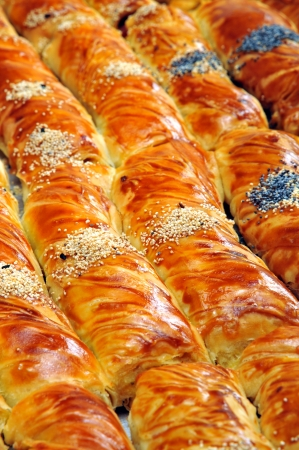 Cheese pie - Borek Stock Photo