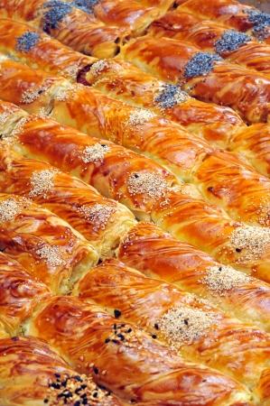 Cheese pie - Borek Stock Photo