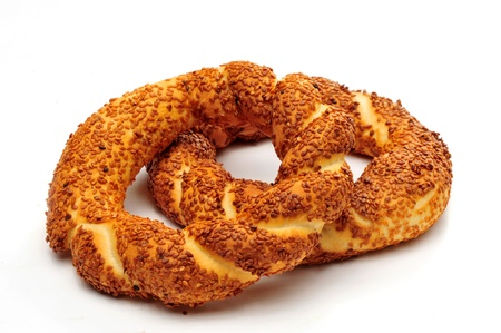 Turkish Bagel  Stock Photo