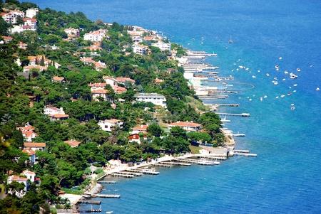 Prince Islands in Istanbul, Marmara Sea,Turkey