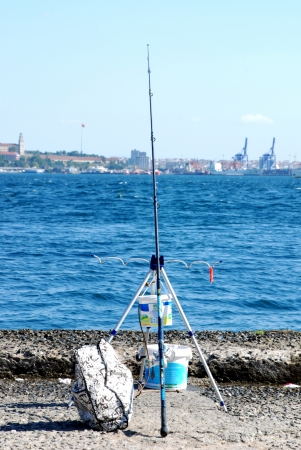 Fishing pole  photo