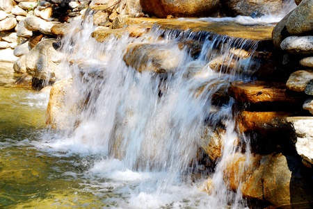 Waterfall in motion