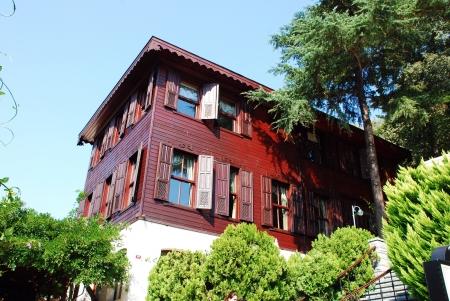 Modern house with garden  in  Istanbul, Turkey