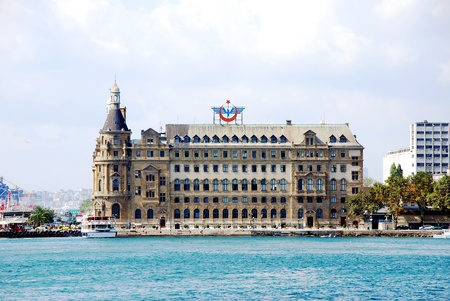 Haydarpasa central station building  Istanbul - Turkey Stock Photo - 16586376