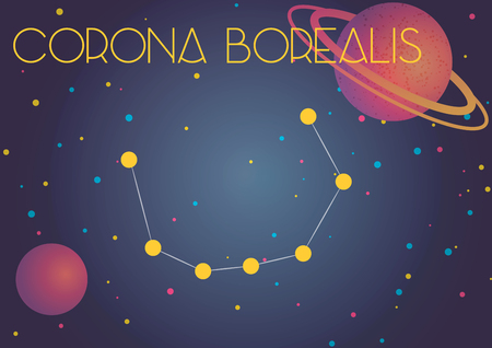 The constellation Corona Borealis