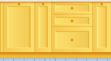beautiful bright kitchen background. kitchen set. gradient