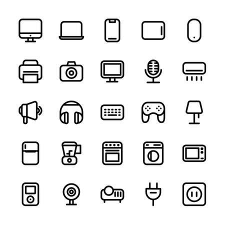Electronic Line Icon