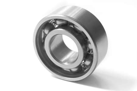 Bearing. The photo is made by close up  on a white background photo