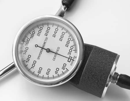 The tonometer is the best device for measurement of a blood pressure at sick and healthy people photo