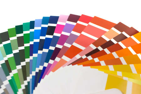 ral: Samples cmyk for colour definition. Stock Photo