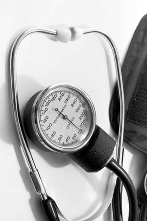 The tonometer is the best device for measurement of a blood pressure at sick and healthy people Stock Photo - 6908246
