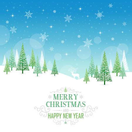 Carte de Noël - Illustration. Vector illustration du Cadre de Noël. Banque d'images - 46921417