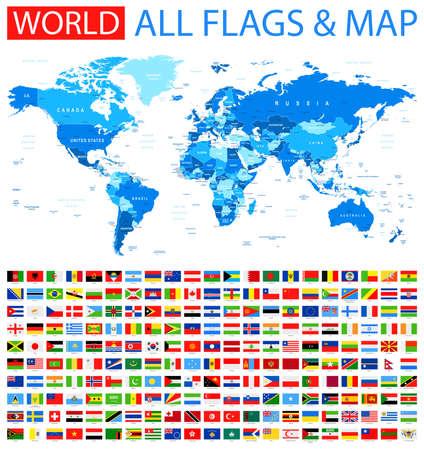 bandera de nueva zelanda: Todas las Banderas y mapa del mundo.