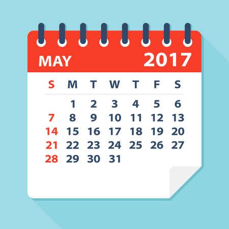 calendar: May 2017 Calendar