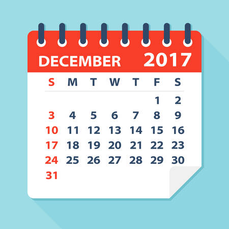 mon 12: December 2017 Calendar