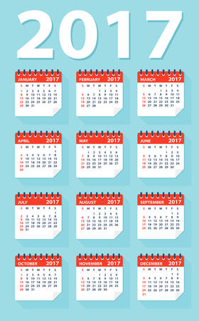 calendar: 2017 calendar
