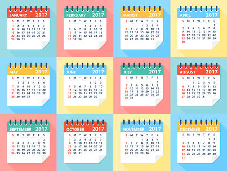calendar: calendar 2017