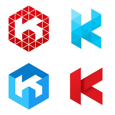 Letter K - Logo Set Logo