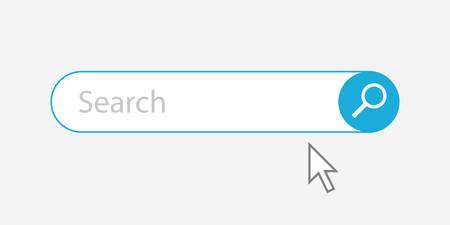 Search Bar - Vector Illustration
