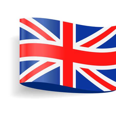 United Kingdom Flag Vector Icon - Illustration