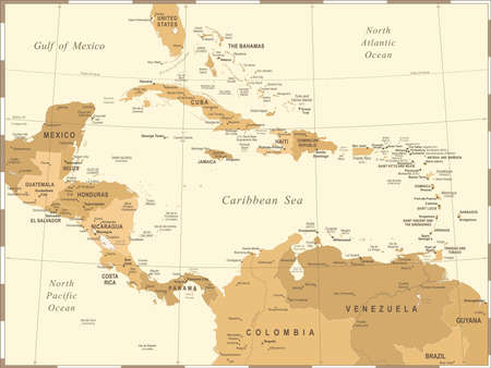 Dominican Republic United States Stock Photos Royalty Free - Map of united states and dominican republic