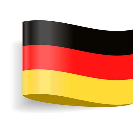 Germany Flag Vector Icon  Illustration