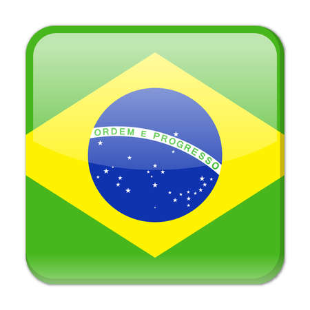 brazil flag vector square icon illustration royalty free cliparts rh 123rf com brazil national flag vector brazil flag vector eps