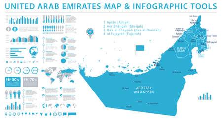 UAE map icon.