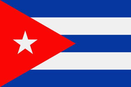 Cuba Flag Vector Icon - Illustration