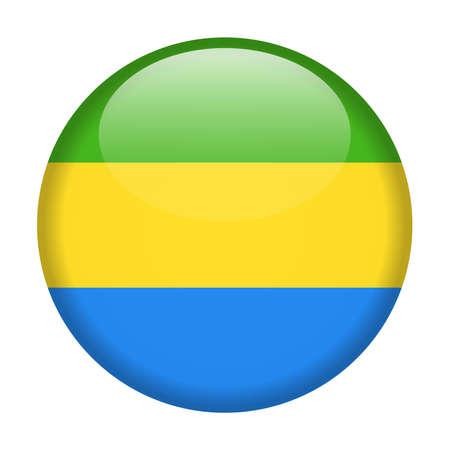 Chad Flag Vector Round Icon - Illustration