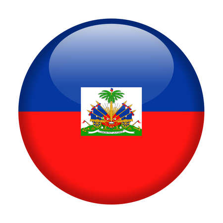 Haiti Flag Vector Round Icon - Illustration design Illustration