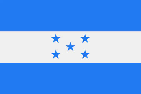 Honduras Flag Vector Icon - Illustration 矢量图像