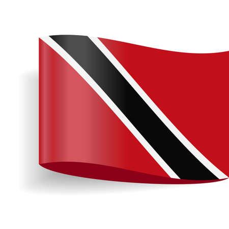 Trinidad and Tobago Flag Vector Icon - Illustration